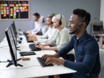 How robotic process automation can help contact centres