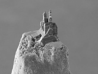 It's now possible to 3D print a castle on top of a pencil tip