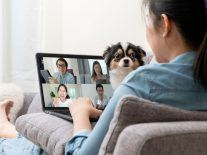 How to minimise disruptions when you're on a video call