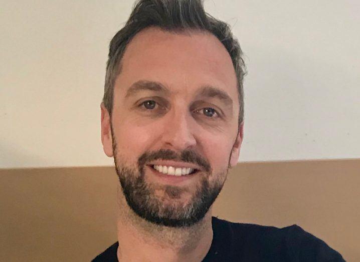 A close-up headshot of Jordan Ryan, VP of EMEA and APAC sales at Malwarebytes.