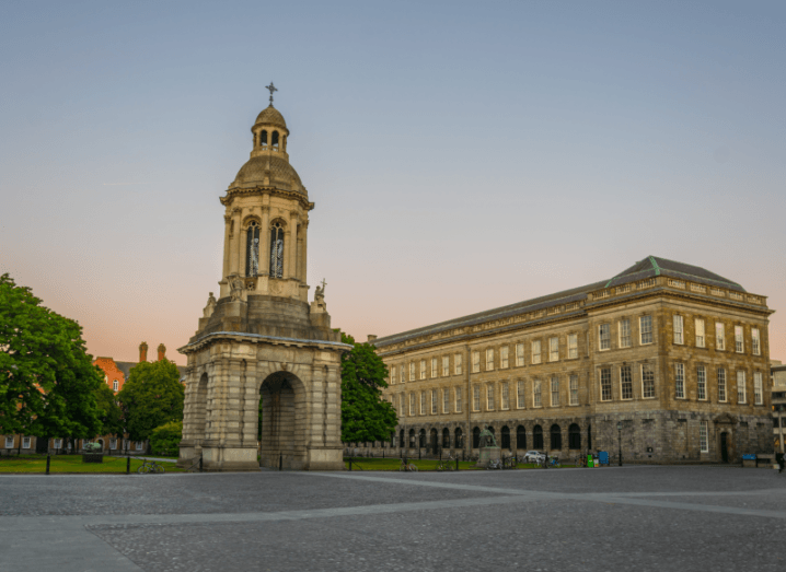 The campus of Trinity College Dublin.