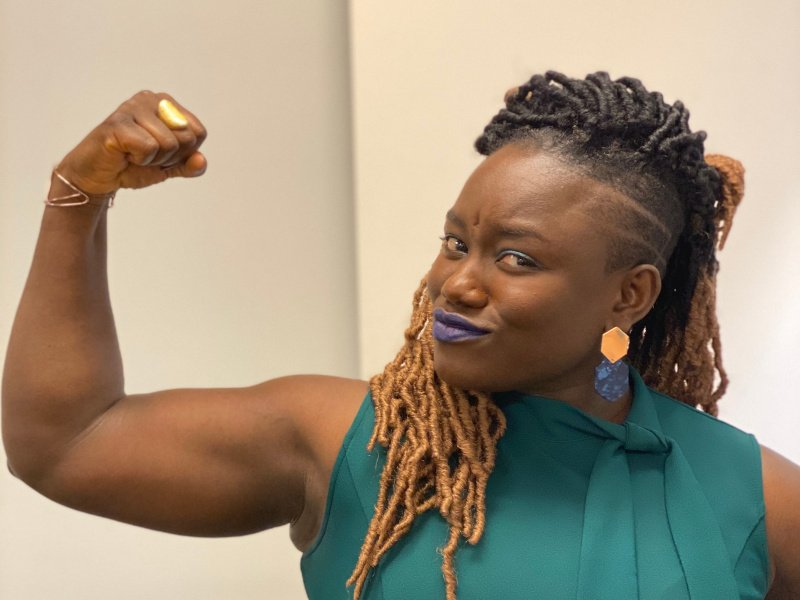 'I use my platform to shake the stereotype of what a scientist looks like'