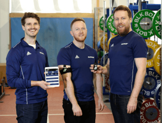 Dublin's Output Sports has created a fitness wearable for elite athletes