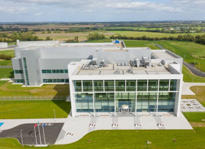 An aerial shot of the Takeda Dunboyne Biologics manufacturing plant, which has just been acquired by MSD.