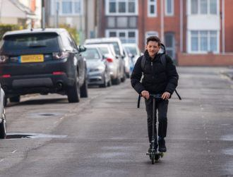 Irish e-scooter start-up gets approval for launch in the UK