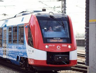 World's first hydrogen-powered passenger train hits the rails in Austria