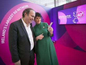 Eir's 5G availability has 'increased more than threefold' since launch