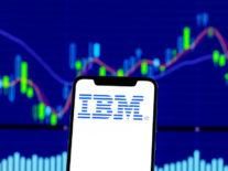 IBM reports revenue bump after four quarters of decline