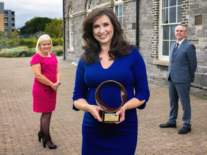 Aoibhinn Ní Shúilleabháin honoured for promoting maths
