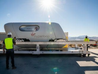 Virgin Hyperloop completes historic passenger trial on Nevada test track