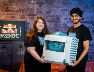 Portable washing machine wins at Red Bull Basement 2020