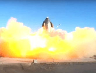 SpaceX Starship prototype explodes in fireball landing during test run