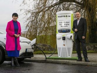 Eir and EasyGo to convert 180 phone boxes into EV charging points
