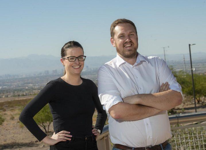 Founders of start-up Klir.
