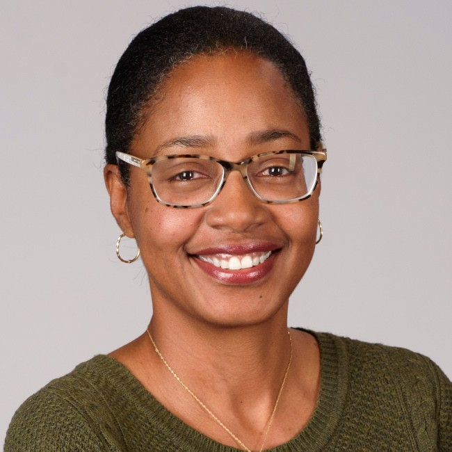 A headshot of Sonja Gittens Ottley, head of diversity and inclusion at Asana.