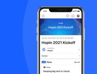 Virtual events unicorn Hopin launches mobile app