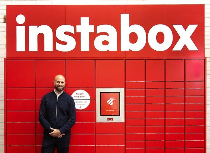 Instabox chief executive Alexis Priftis. Image: Instabox
