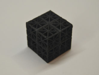 New 3D-printed material could lead to lighter, safer vehicles
