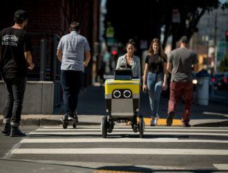 Uber spins out robotic delivery company