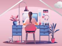 5 things we've learned after one year of working from home