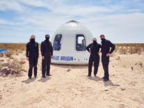 Jeff Bezos' Blue Origin to auction off space tourism ticket