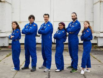 An aspiring Irish astronaut is currently on a simulated moon mission
