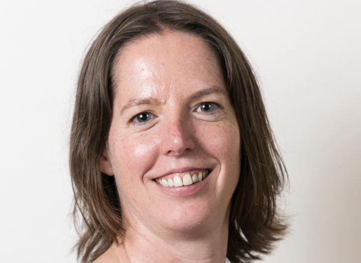 A close-up headshot of Janet Humphreys, CTO of Goal. She's smiling at the camera.