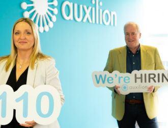 Irish cloud player Auxilion to create 110 new jobs