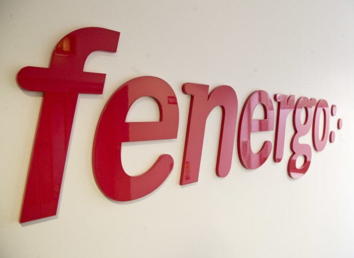 The Fenergo company logo, in red text on a white background.