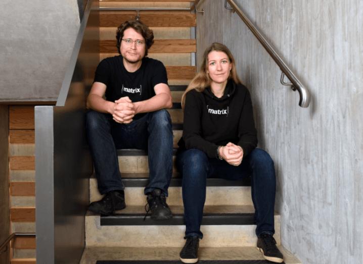 Element and Matrix co-founders Matthew Hodgson and Amandine Le Pape.