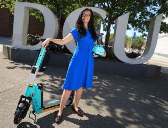 Ireland's first big e-scooter trial launches across DCU campuses