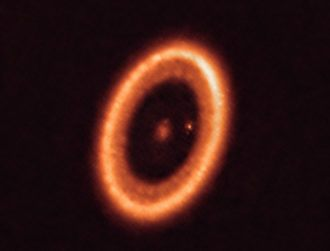 ALMA observation could offer key insights into how moons are formed