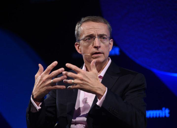 Intel CEO Pat Gelsinger at Web Summit 2017.