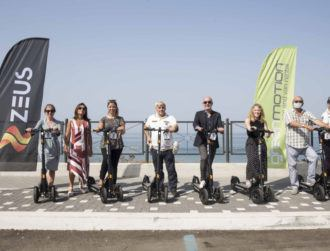 Irish e-scooter start-up Zeus continues Europe expansion with Italy launch