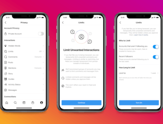 Instagram rolls out Limits, letting users curb unwanted comments and DMs