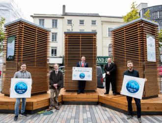 Cork installs robot CityTrees to tackle air pollution amid criticism