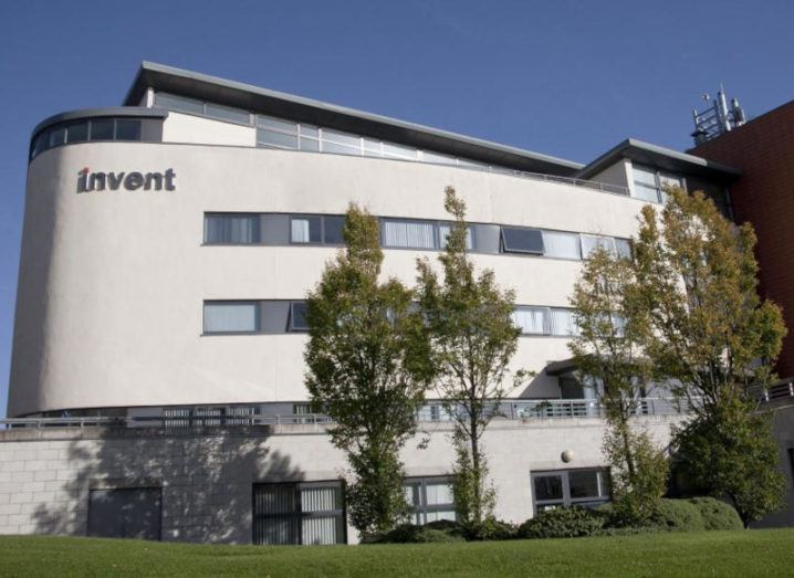 Photo of the DCU Invent building.