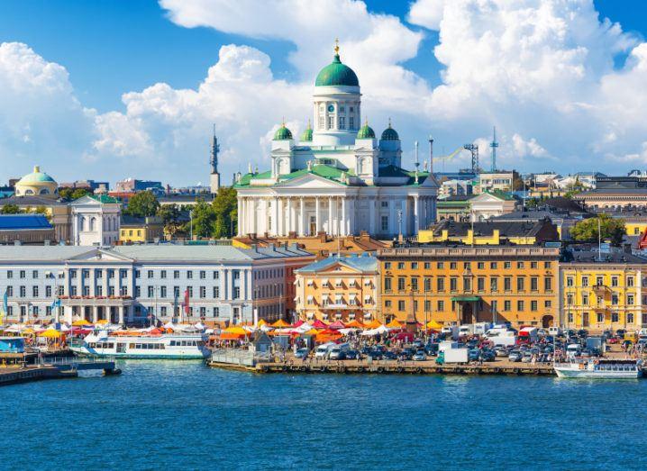 Photo of Helsinki, Finland.