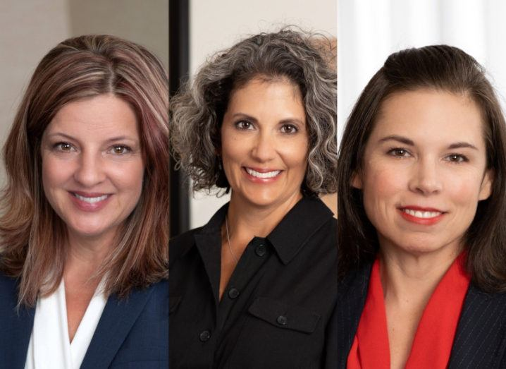 Photos of Stephanie Glowacki, Dr Tish Ramirez and Holly Dean.