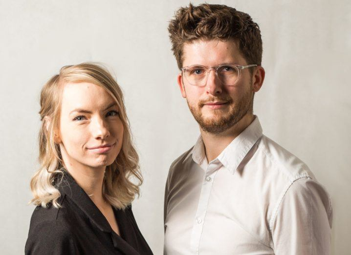 The co-founders of Positive Carbon, COO Aisling Kirwan and CEO Mark Kirwan.