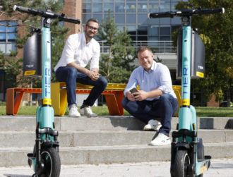 E-scooters can be booked on Free Now app in DCU trial