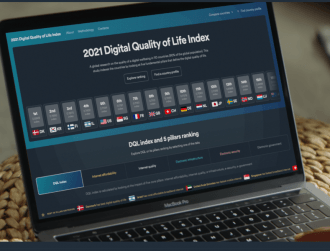 Ireland's digital quality of life index has modestly improved since 2020