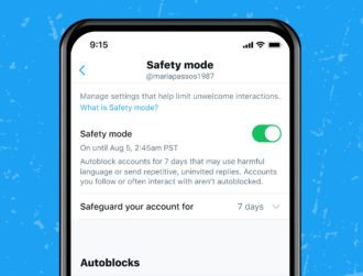 Safety Mode: Twitter to trial new account autoblock feature