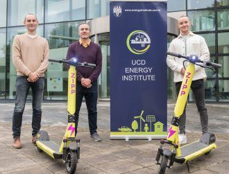 UCD to collaborate with Irish e-scooter start-up on safety research