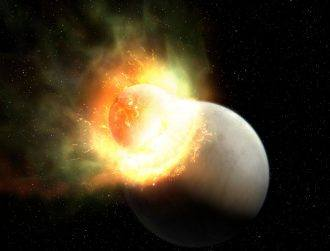 Galway astronomer in global team that detected giant collision in space