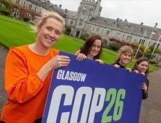 UCC is sending students and researchers to COP26 in Glasgow