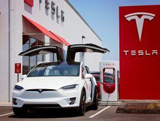 Tesla joins trillion-dollar valuation club after new EV rental deal